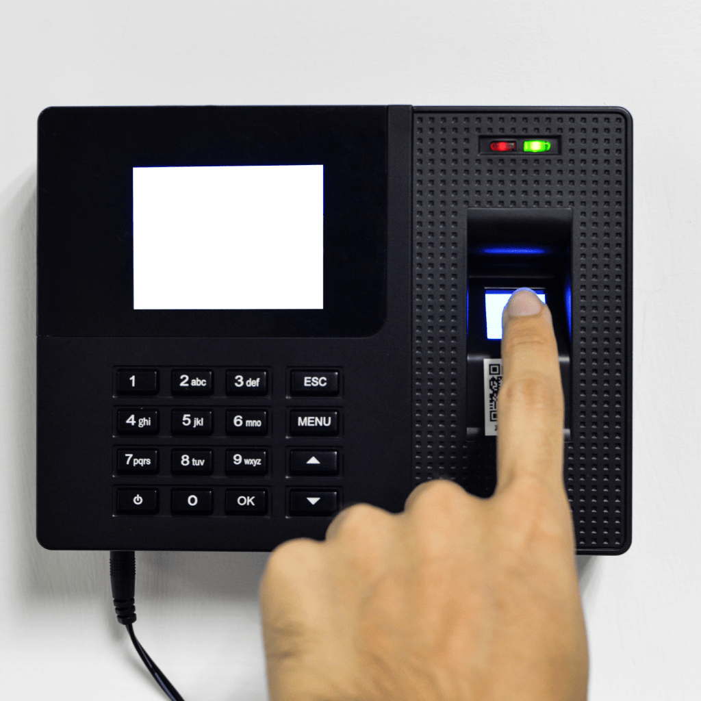 Home attendance management system individual section